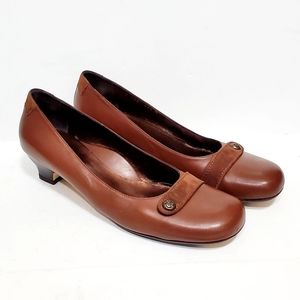 Taryn Rose Brown Heels Like New Women's Size 11.5